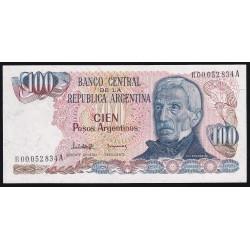 REPOSICION B2623 100 Pesos Argentinos Lopez - Gonzalez del Solar UNC