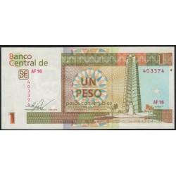Cuba 1 Peso 2016 UNC