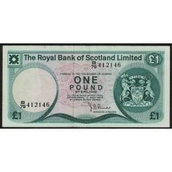 Escocia 1 Pound 1979 P336a MB+