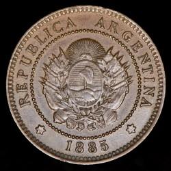 Argentina 1 Centavo 1885 CJ41.2 Cobre EXC