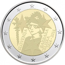 Eslovenia 2 Euros 2014 UNC