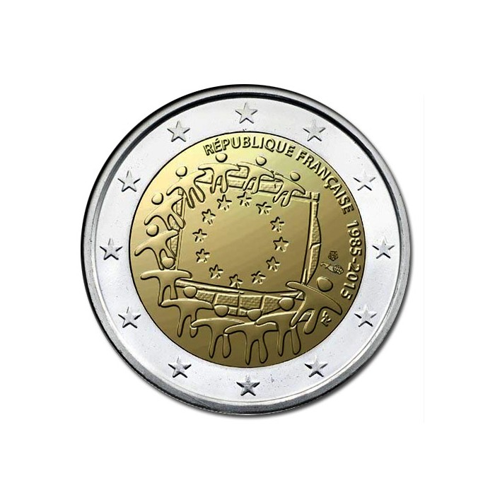 Francia 2 Euros 2015 UNC