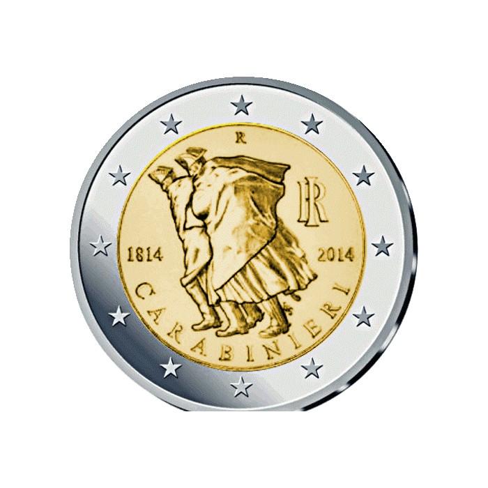 Italia KM367 - 2 Euros 2014 UNC