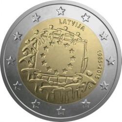 Letonia 2 Euros 2015 UNC