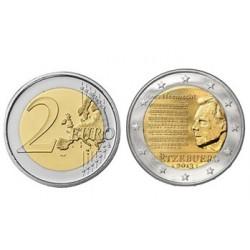 Luxemburgo KM125 - 2 Euros 2013 UNC