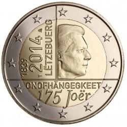 Luxemburgo KM129 - 2 Euros 2014 UNC