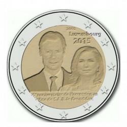 Luxemburgo 2 Euros 2015 UNC