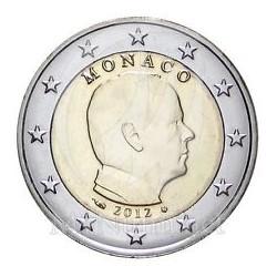 Monaco 2 Euros 2012 UNC