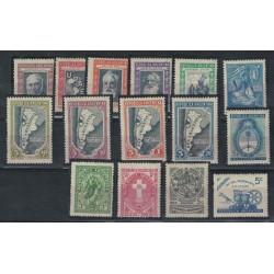 Año 1944 Completo - Mint y Alguno Con Marca de Visagra