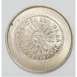 Medalla Argentina Acuñada Por Casa De La Moneda - UNC
