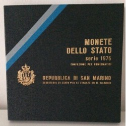 San Marino Set de Monedas de Estado 1976 - UNC