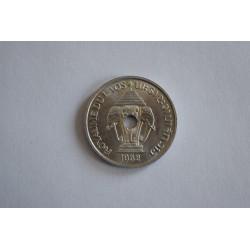 KM5 Laos 20 Centavos 1952 UNC