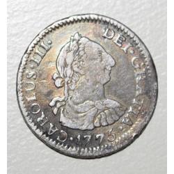 Potosi 1/2 Real 1775 JR CJ:67.3 Carlos III