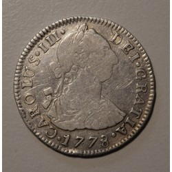 Potosi 2 Reales 1778 PR CJ:65.7.2 Carlos III