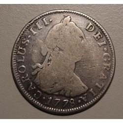 Potosi 4 Reales 1778 PR CJ:64.7.4 Carlos III
