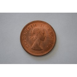 KM46 Sud Africa 1 Penny 1959 UNC