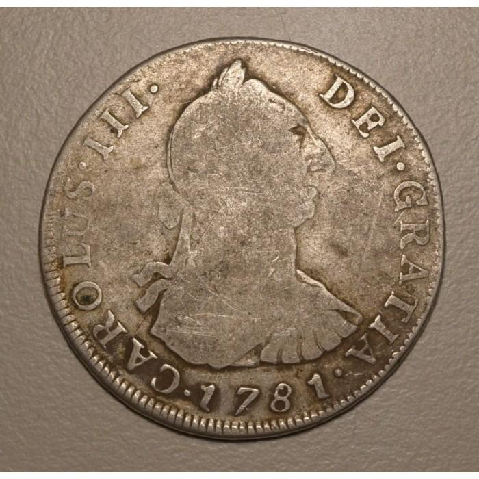 Potosi 4 Reales 1781 PR CJ:64.10.1 Carlos III