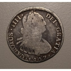 Potosi 4 Reales 1807 PJ CJ:77.19 Carlos IIII