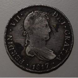 Potosi 4 Reales 1817 PJ CJ:87.2 Fernando VII