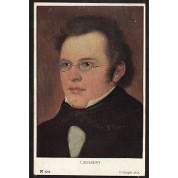 Postal de F. Schubert - Alemania