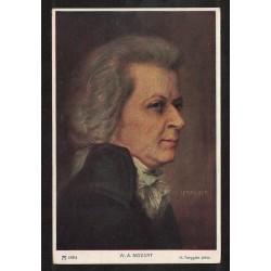 Postal de Mozart - Alemania