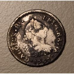 Potosi 1/2 Real 1790 PR CJ:79.2.2 Carlos IV