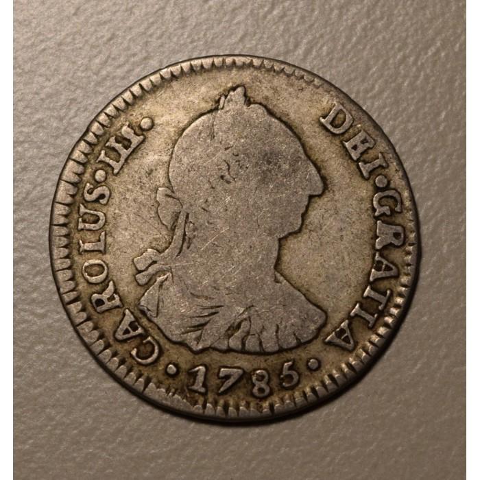 Potosi 1 Real 1785 PR CJ:66.14 Carlos III