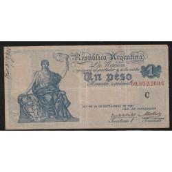 B1554 Caja de Conversion 1 Peso 1924