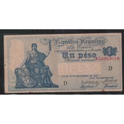 B1557 Caja de Conversion 1 Peso 1927