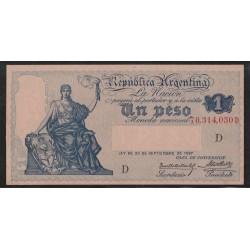B1558 Caja de Conversion 1 Peso 1928