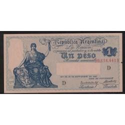 B1559 Caja de Conversion 1 Peso 1929 Sin Circular