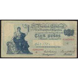 B1896 100 Pesos Ley 12.155 1938