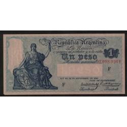 B1564 1 Peso Caja de Conversion 1933