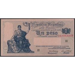 B1818 1 Peso Ley 12.155 1939