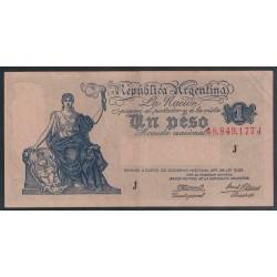 B1828 1 Peso Ley 12.155 1945