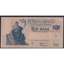 B1835 1 Peso Ley 12.962 1948