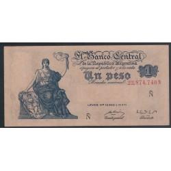 B1843 1 Peso Ley 12.962 1952
