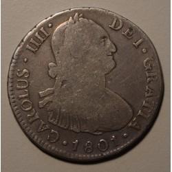 Lima 4 Reales 1801 IJ KM96 Carlos IIII