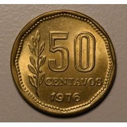 Argentina 50 Centavos 1976 UNC