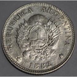 CJ19.7 Argentina 20 centavos 1882