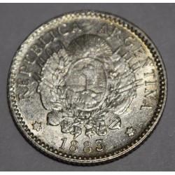 CJ23.2 Argentina 10 Centavos 1883