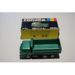 Tomica N°52 Hino Dump Car Japon C/caja
