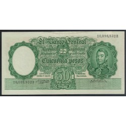 B1993 50 Pesos Leyes 12.962 y 13.571 1957