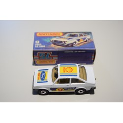 Matchbox N°9 Ford Escort Rs2000 Nuevo C/caja