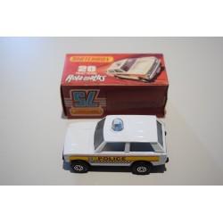 Matchbox N°20 Police Patrol Nuevo C/caja