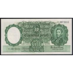 B2013 50 Pesos Leyes 12.962 y 13.571 1963 UNC