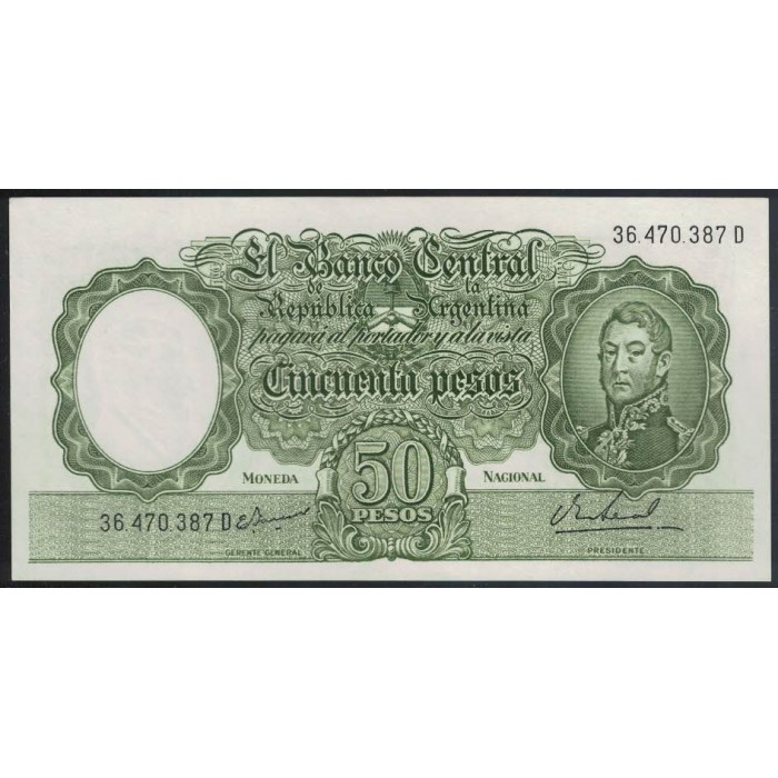 B2027 50 Pesos 1968