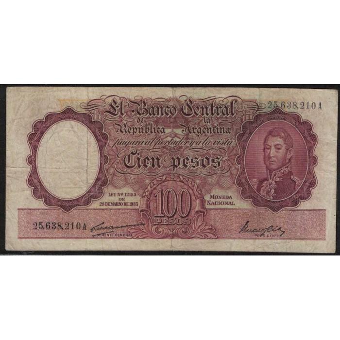 B2036 100 Pesos 1948