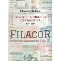 Catalogo Bonos De Argentina E. Colantonio.