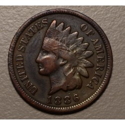 USA 1 Cent 1886 KM90a